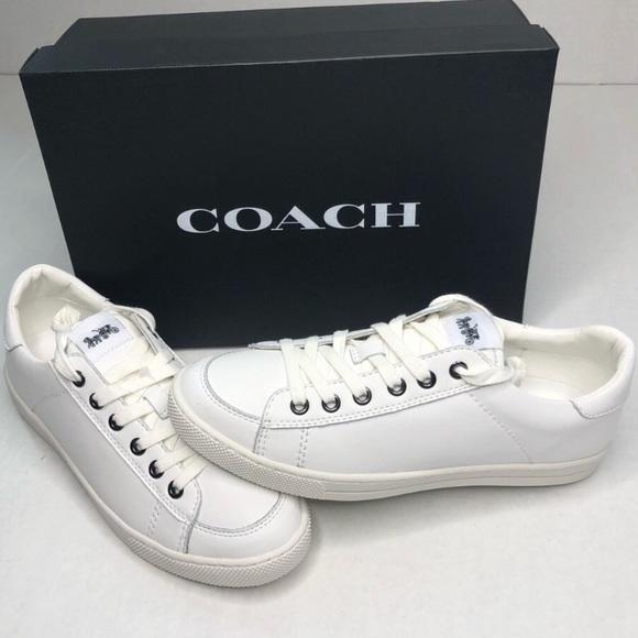 Coach Shoes | New White Tennis Sneaker